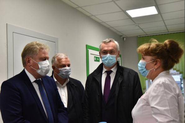 Андрей Травников: Первичное звено здравоохранения активно развивается в районах области