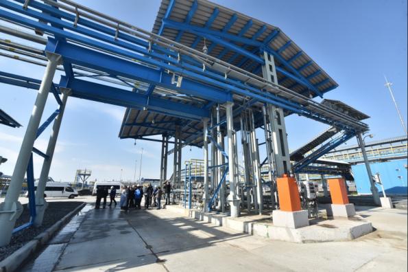 В начале нового года в Новосибирской области начнёт работу мощный газовый терминал