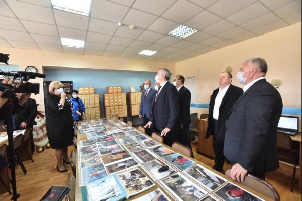 Губернатор обозначил задачи подготовки «целевиков» в Куйбышевском филиале педагогического университета
