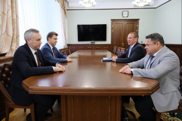 Губернатор провёл рабочую встречу с заместителем руководителя Федерального казначейства