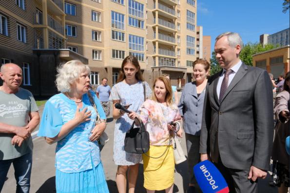 Андрей Травников: 14 долгостроев должны быть введены в эксплуатацию в 2019 году