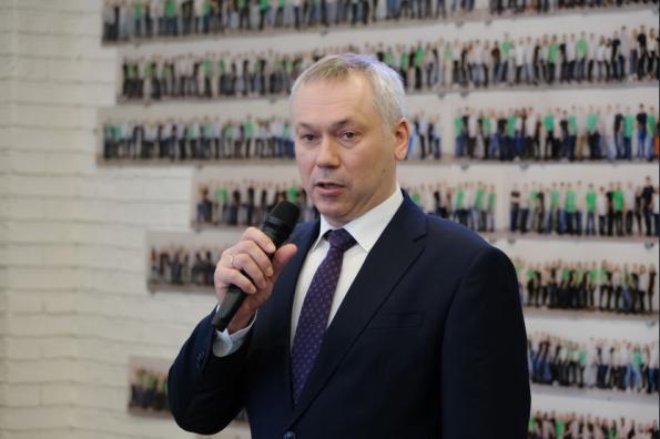 Андрей Травников: Проект «Школа 21» позволит обеспечить экономику нашего региона профессиональными IT-кадрами
