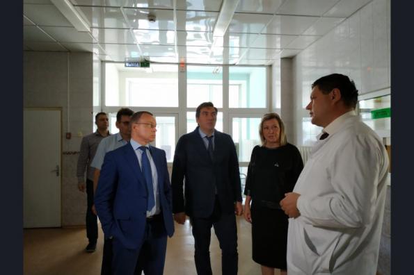 Первый заместитель Губернатора Юрий Петухов проконтролировал реализацию нацпроектов в Чулымском районе