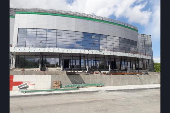 В новом Региональном центре волейбола завершается подготовка к установке спортивного оборудования