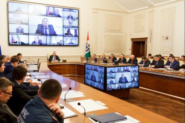 Губернатор Андрей Травников подвёл итоги подготовки к отопительному периоду и поставил задачи на новый сезон