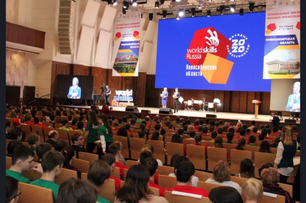 Более 800 участников соревновались в региональном чемпионате «Молодые профессионалы»