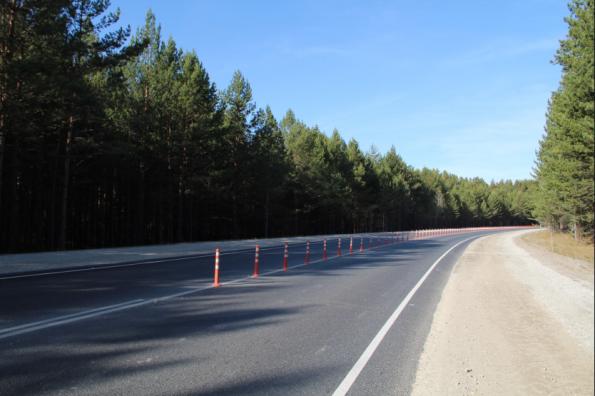 «Объект года» с гибкими столбами сдан в эксплуатацию в Новосибирской области по нацпроекту БКД 2.0