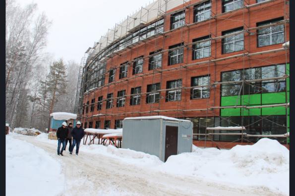 Новый корпус лицея в Академгородке будет достроен до конца года