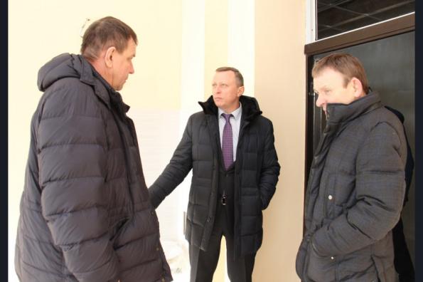 Заместитель Губернатора Сергей Нелюбов проинспектировал строительство трех новых школ в Новосибирске