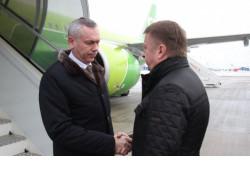 Делегация Новосибирской области под руководством Губернатора Андрея Травникова работает в Республике Беларусь