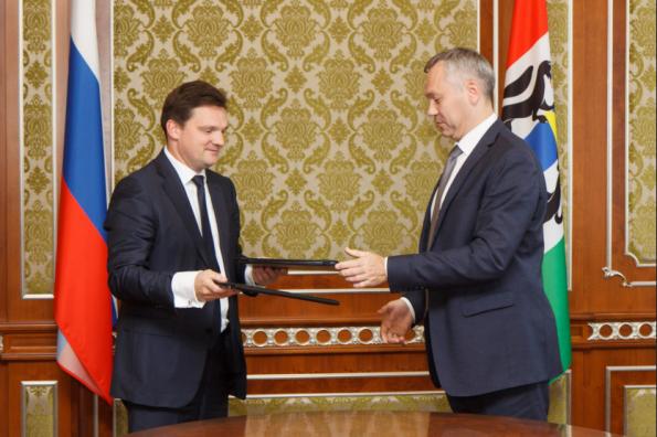 Подписано соглашение о взаимодействии между Новосибирской областью и «Почтой России»