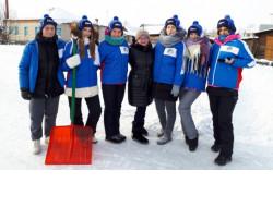 Всероссийская акция «Снежный десант» завершилась в Новосибирской области