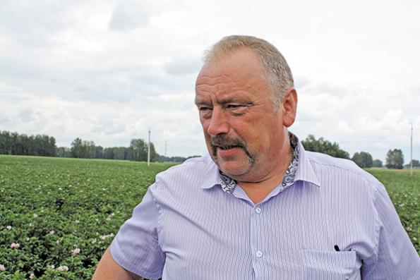Сергей Першилин, начальник управления сельского хозяйства Ордынского района
