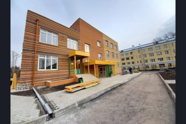 Два новых детских сада будет построено в г. Обь до конца года благодаря нацпроекту