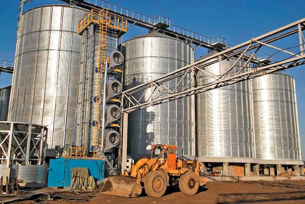 Зерносушильный комплекс