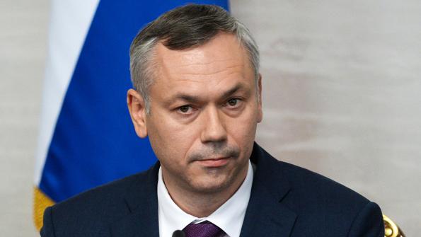 Врио главы Новосибирской области Андрей Травников