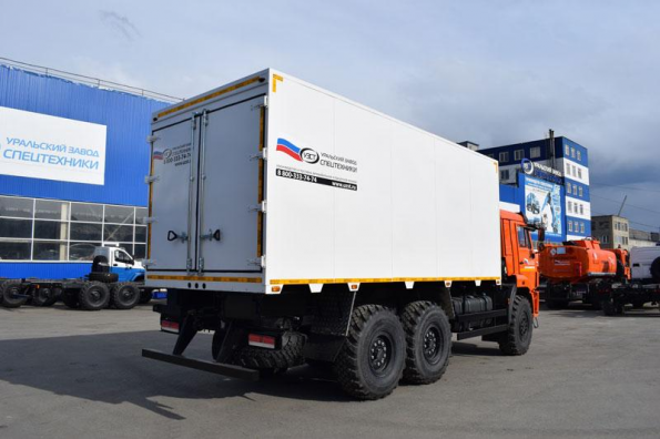 Российский завод выпустил фургон-рефрижератор для транспортировки сельхозпродукции