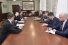 Андрей Травников и Чрезвычайный и Полномочный Посол Швейцарской Конфедерации в РФ Ив Россье обсудили перспективы межрегионального сотрудничества
