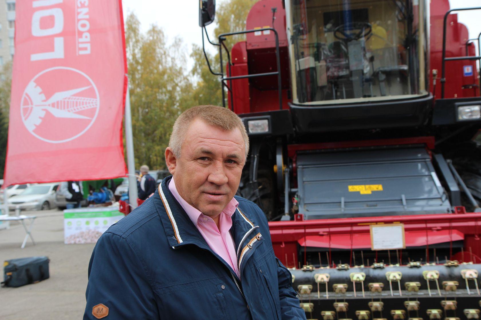 Директор торгового дома «Гомсельмаш-Сибирь» Владимир Маляев