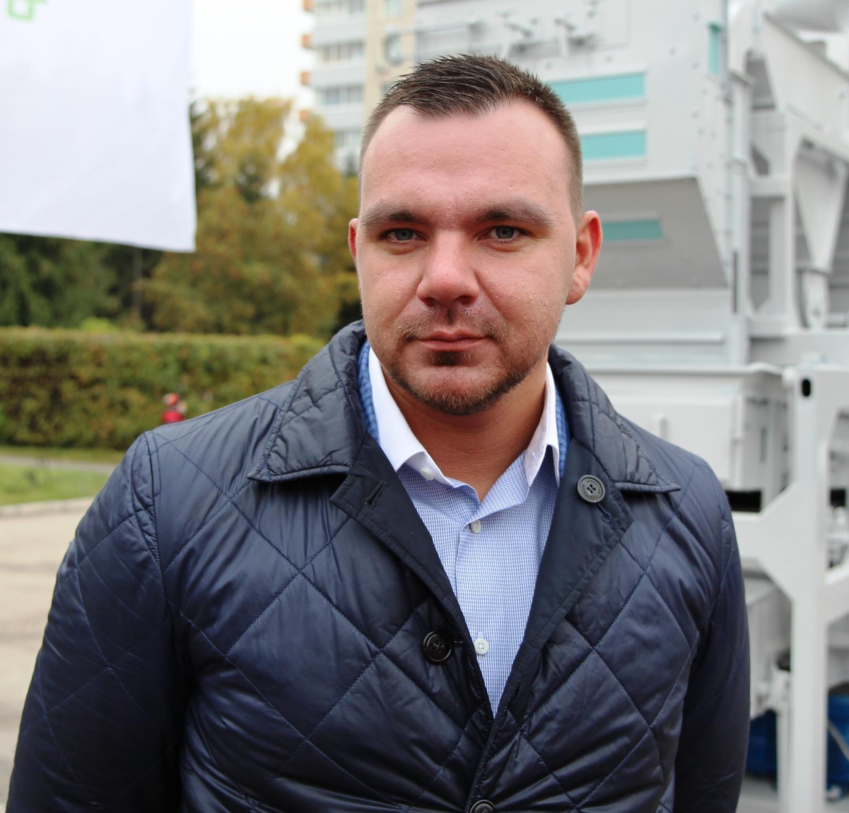 Генеральный директор ООО «АгропромСпецдеталь» Сергей Чернышов
