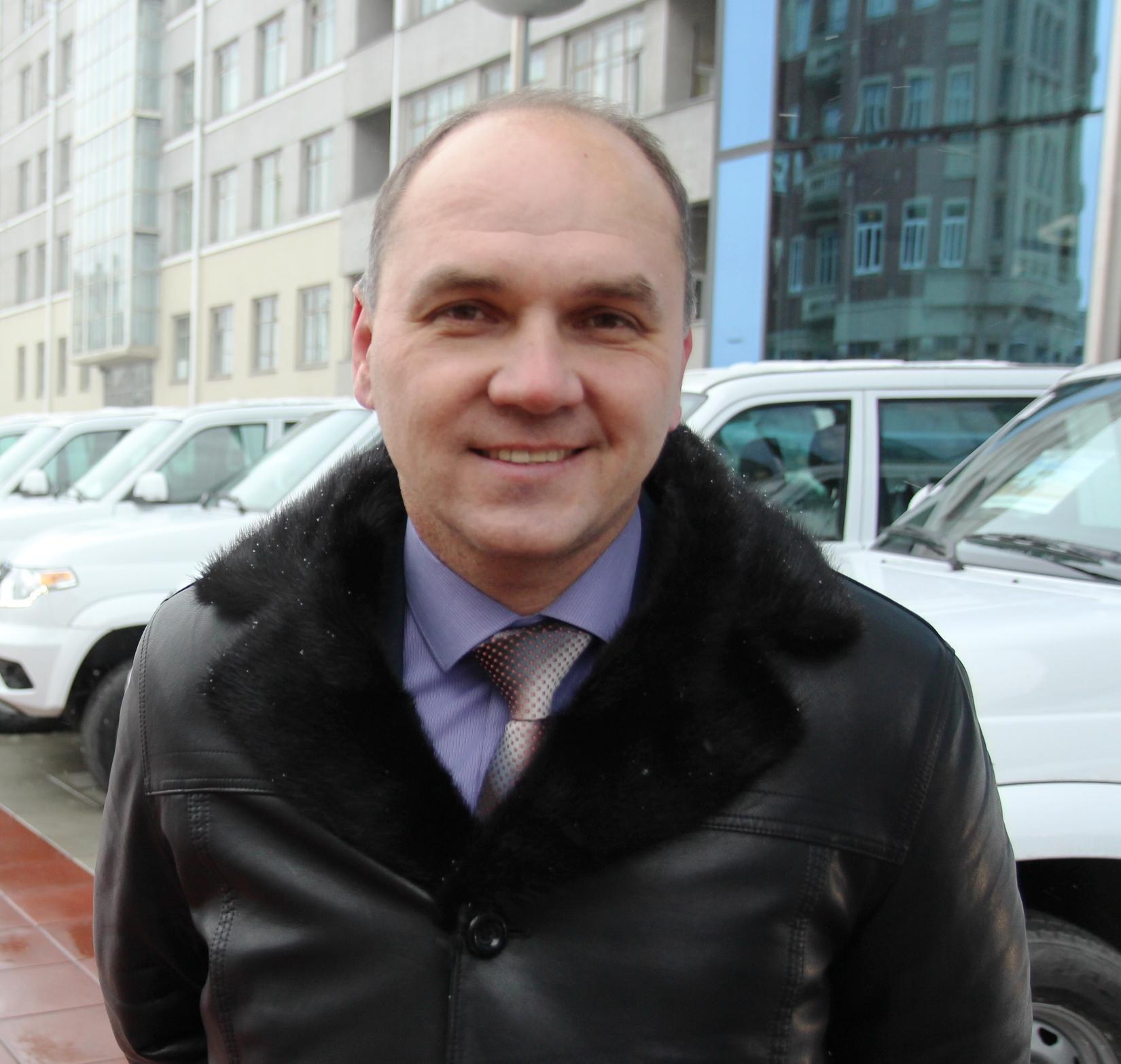 директор УАЗ Центра Игорь Кошкин