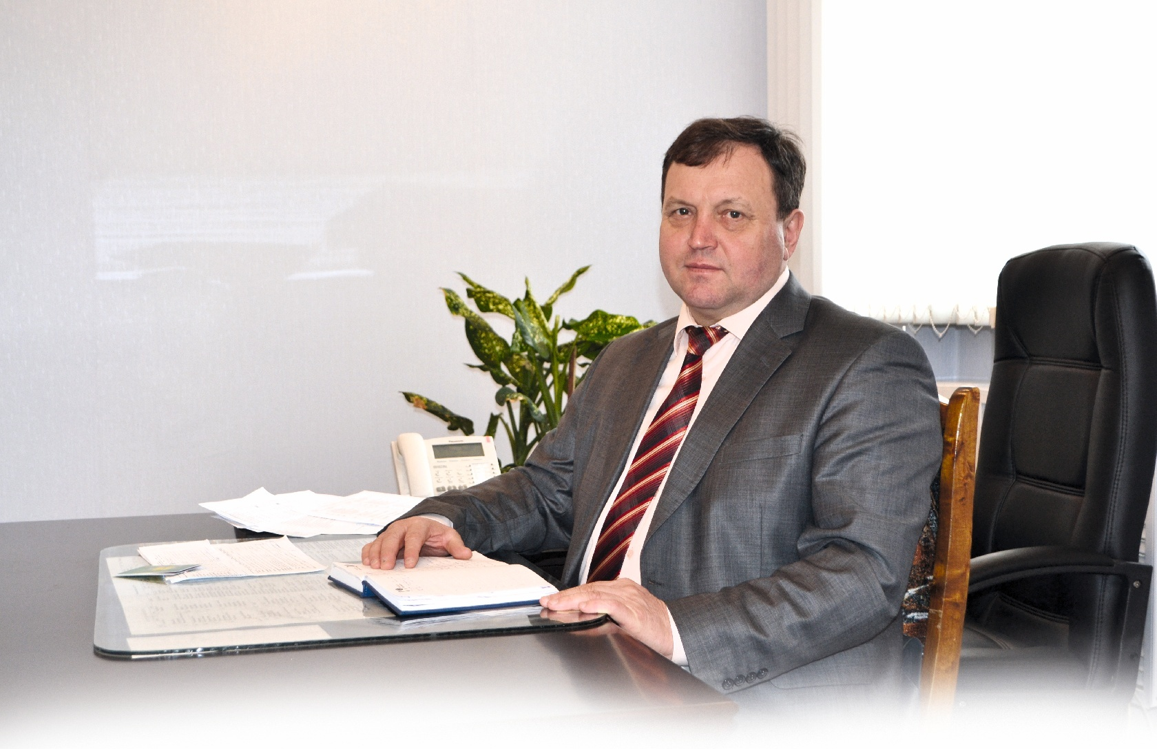 глава Кочковского района Петр Шилин
