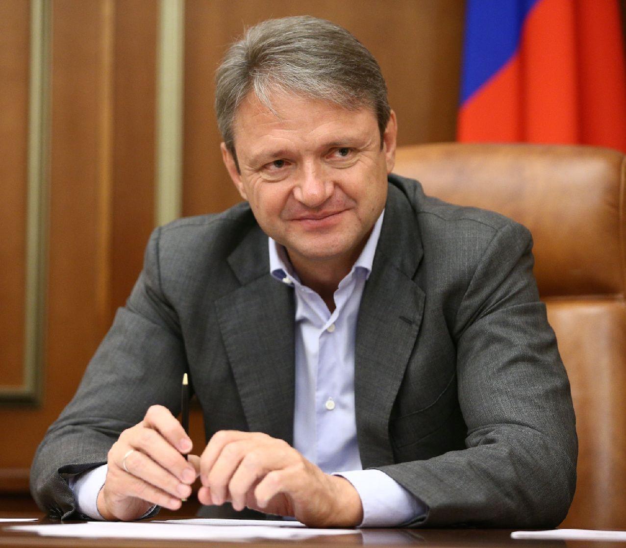 Министр сельского хозяйства Российской Федерации  Александр Николаевич Ткачев.