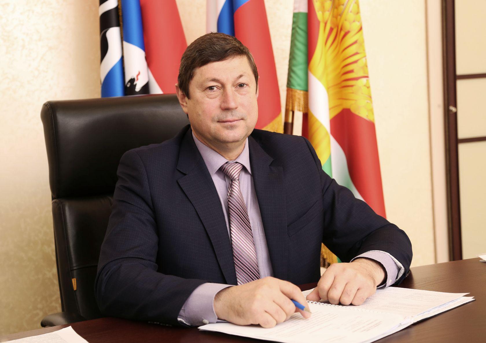 Глава Коченевского района Андрей Семенович Новоторженцев