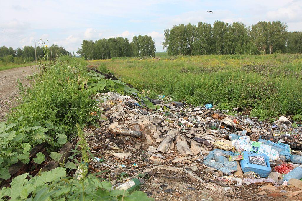 Горы мусора