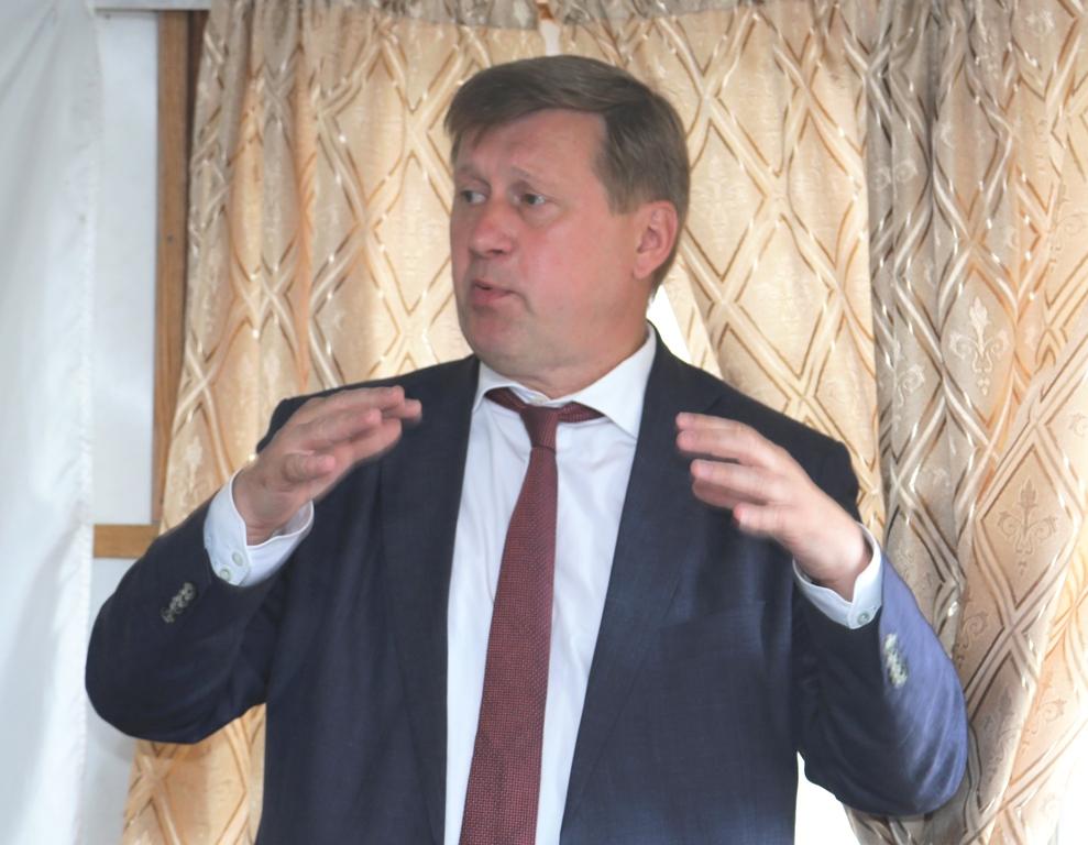 Анатолий Локоть - мэр г.Новосибирск
