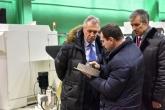 Валерий Назаров посетил Петербургский тракторный завод