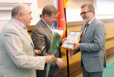Награждение банка «Акцепт» дипломом «Новосибирская марка-2015»