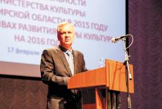 Игорь Решетников, министр культуры Новосибирской области