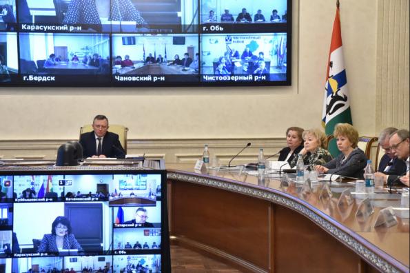 В Новосибирской области будет создан координационный совет по реализации мероприятий Десятилетия детства