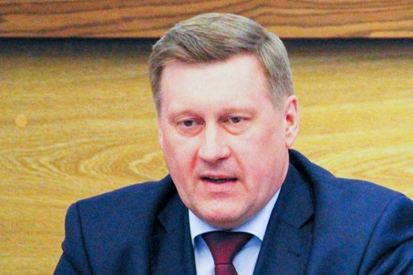 Анатолий Локоть, мэр Новосибирска