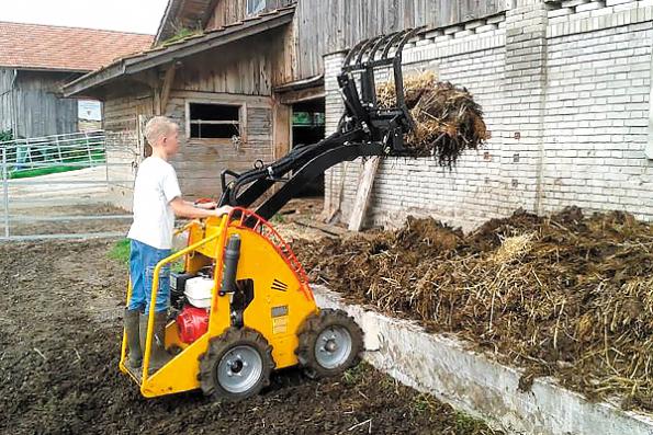 Мини-трактор Helffer