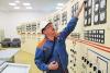 Андрей Гисматулин, начальник участка службы эксплуатации Новосибирской ГЭС». Фото: © Сибирский репортёр